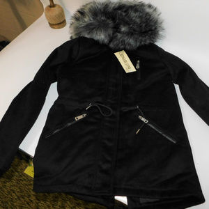 NWT Kenguru Cove Hooded Coat Medium